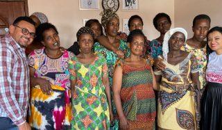 Viúvas refugiadas do Congo